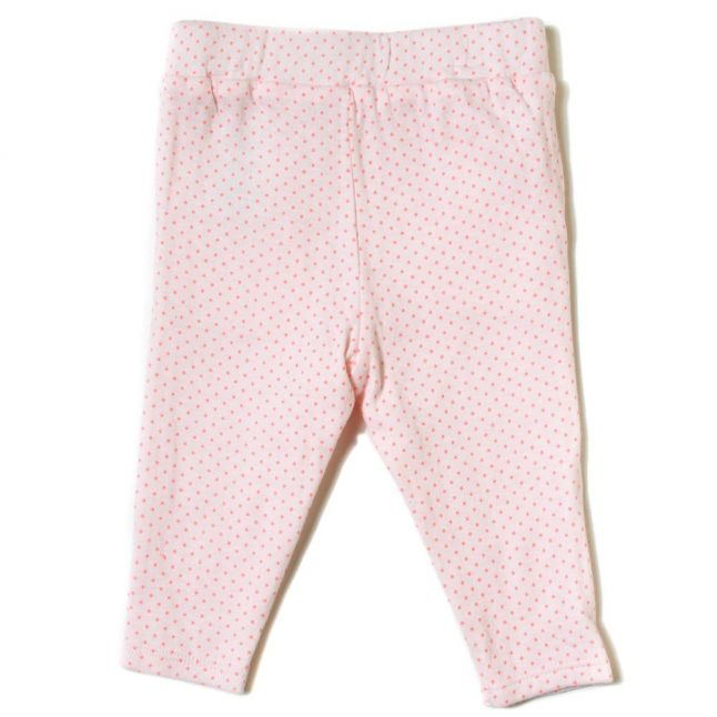 Baby Pink Dot Leggings