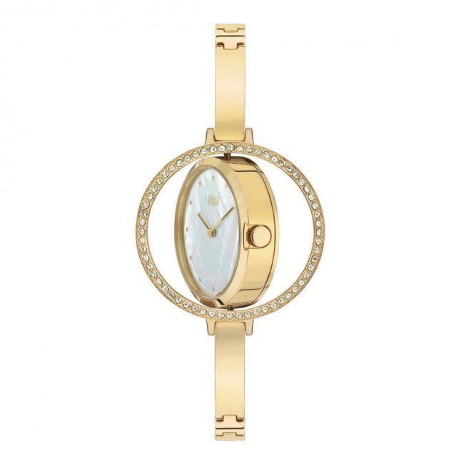 Womens Gold Swivelle Watch