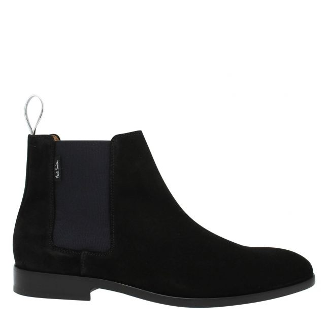 Mens Black Gerald Leather Chelsea Boots