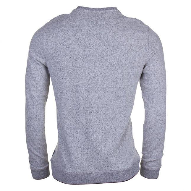 Mens Grey Malibo Crew Knitted Jumper