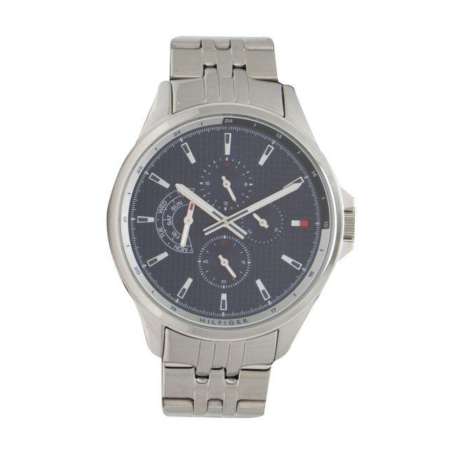 Mens Silver/Blue Shawn Bracelet Watch