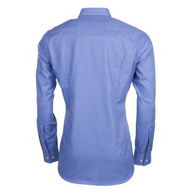 Mens Medium Blue C-Jason Slim Fit L/s Shirt