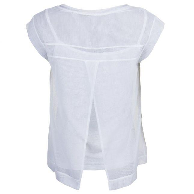 Boss Orange Womens White Tameshy S/s Tee Shirt