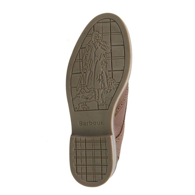 Mens Dark Brown Bamburgh Brogue Shoes
