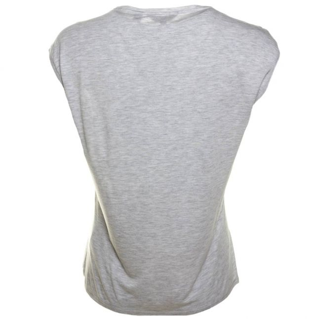 Womens Ash Frema Pearly Petal Printed S/s Tee Shirt