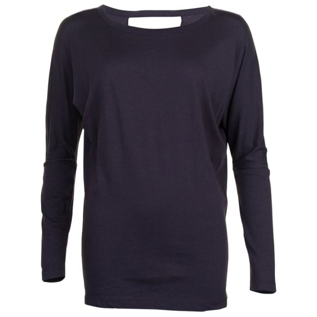 Womens Black L/s Tee Shirt