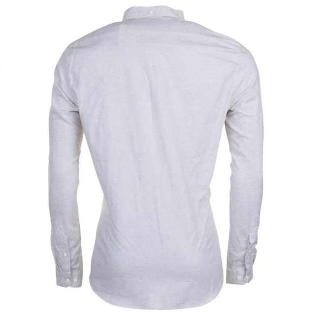 Heritage Mens Ecru Paul L/s Shirt