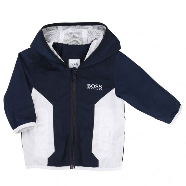 Baby Navy Casual Hooded Jacket