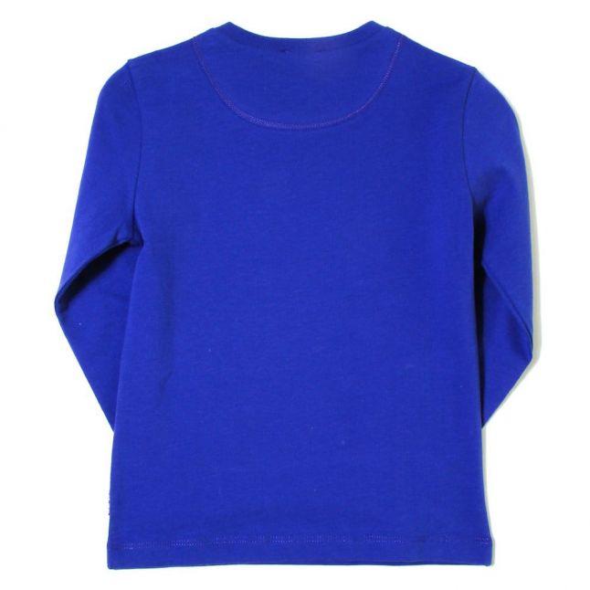 Boys Regatta Blue Juven L/s Tee Shirt