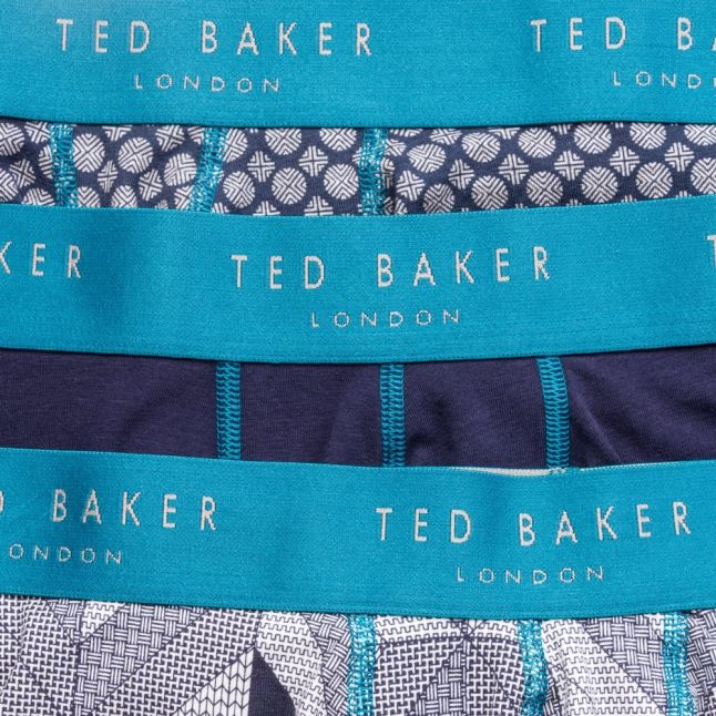 Mens Assorted Icons 3 Pack Boxers