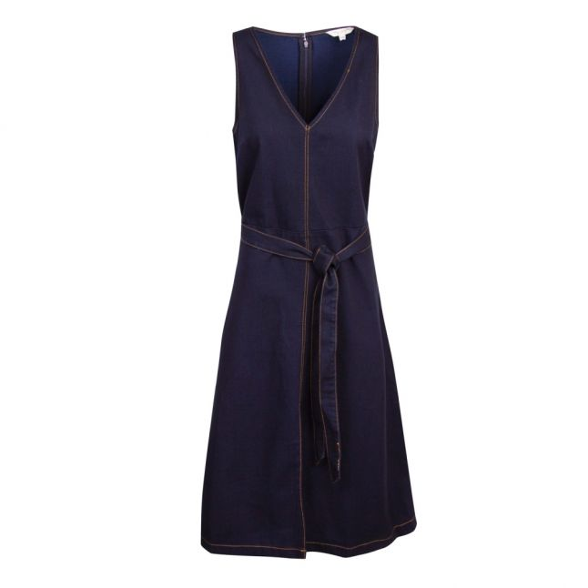 Womens Raw Blue Pulika Chambray Denim Dress
