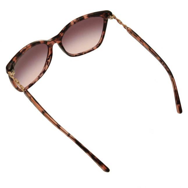 Womens Pink Tortoise & Rose Gold MK6029 Sunglasses