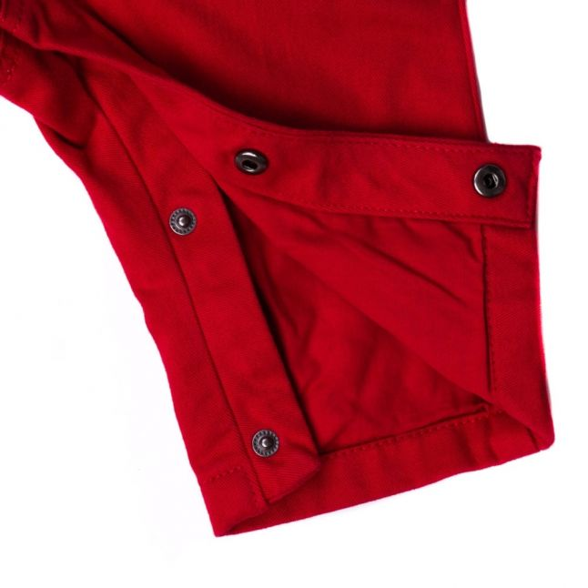 Baby Red Chino Trousers