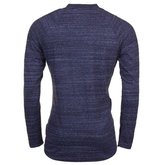 Mens Mazarine Blue Classic Raglan L/s Tee Shirt