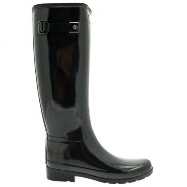 Womens Black Original Refined Gloss Tall Wellington Boots