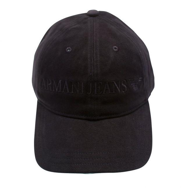 Mens Blue Logo Branded Cap